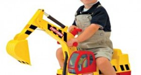 Thanksgiving weekend Toy Deals for the little man – Super cool Excavator & footsie PJs for just $5