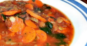 Meatless Dinner Recipe: Lentil Tomato Soup