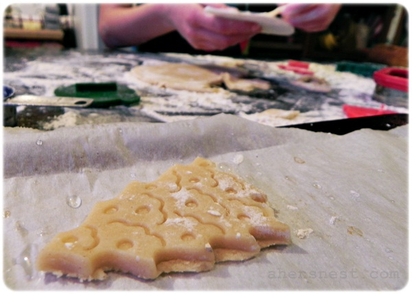 sugar cookie cut outs