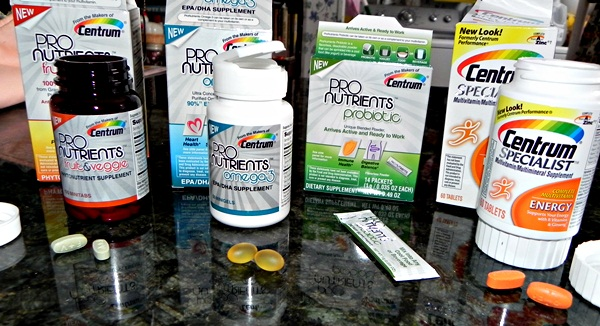 PRONUTRIENTS Centrum pill size