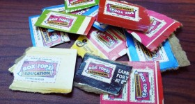 clipped box tops collection