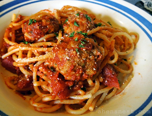 Really Good Oven Baked Meatballs – easy dinner #recipe