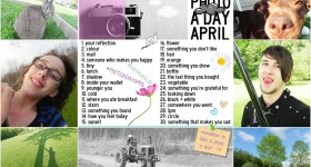 Are you participating in #photoadayApril? I am!
