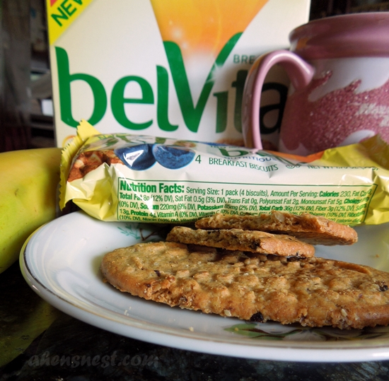belVita blueberry biscuits