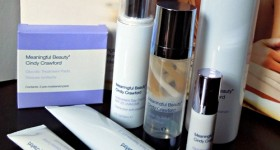 Meaningful Beauty skincare by Cindy Crawford – Test Drive {After}