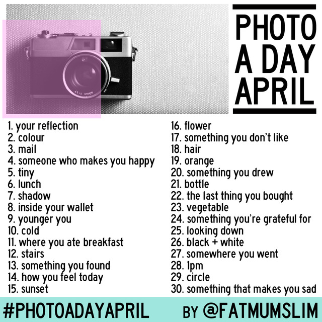 photo a day april