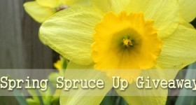 "Win a $50 Visa Gift card to pamper yourself with in the ""Spruce Me Up For Spring"" #Giveaway! WOOHOO! ends 3/30"