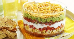 Eating Light – 400 calories or Less — 7-Layer Dip Recipe