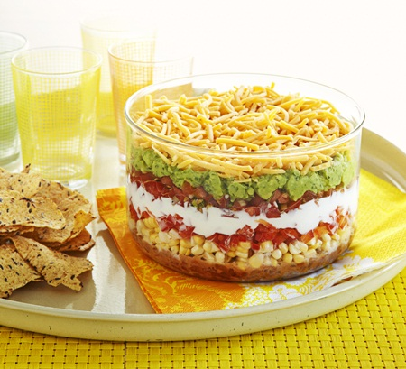 Classic From-a-Can 7-Layer Dip Recipes — Dishmaps