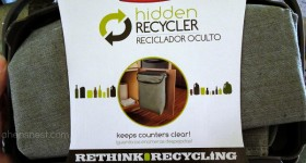 Clear off the counters with the Rubbermaid Hidden Recycler – Review