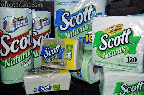 SCOTT Naturals products