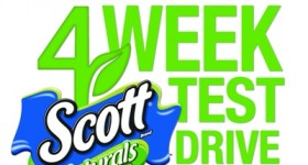 April is Earth Month! Pledge to take the SCOTT Naturals 4-Week Test Drive!