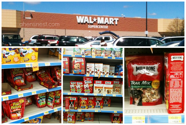 Walmart dog treats