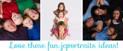 Fun Family Poses http://ahensnest.com/2012/04/jcpenney-portrait-studio-tips.html