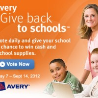 Avery Give Back to Schools
