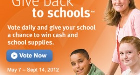 Win cash and Avery supplies for your favorite school! #GiveBackToSchools
