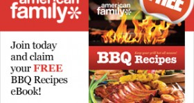 Free BBQ recipes eBook from AmericanFamily.com – Yum!