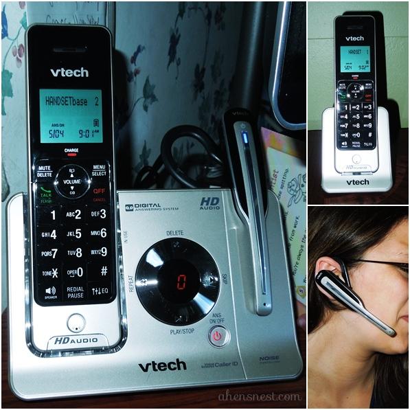 VTech LS6475-3 phone system