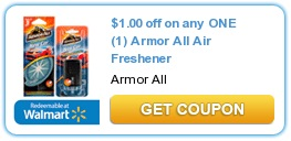 Armor All Air Freshener $1.00 off 1 coupon