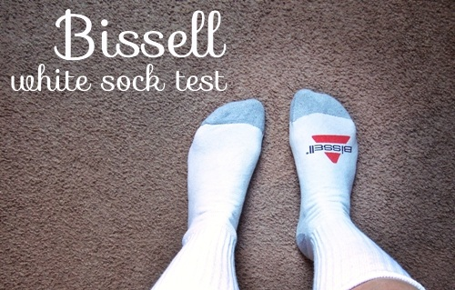 bissell white sock test campaign