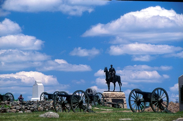 Gettysburg<br /><br /><br /><br /><br /><br /><br /><br /> Gettysburg Military Park. Provided By: Commonwealth Media Services