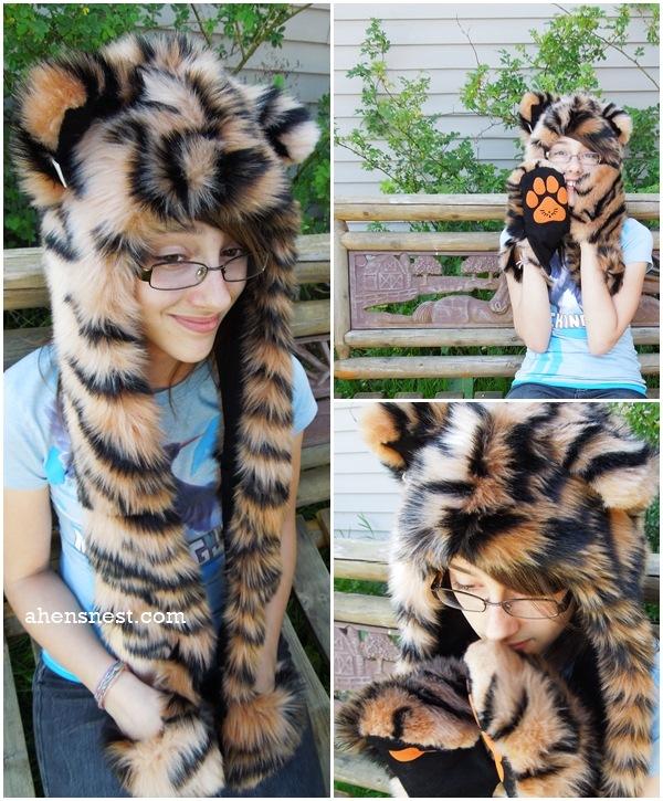 SpiritHoodsKids tiger hood