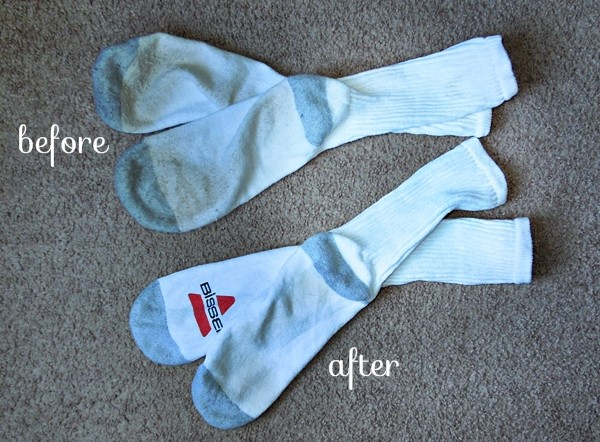 white sock test results