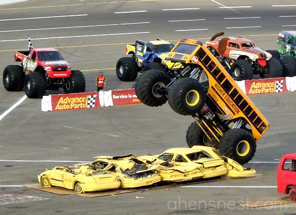 Higher Education Monster Truck