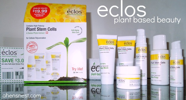 eclos plant based beauty products