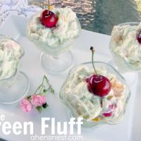green fluff stuff