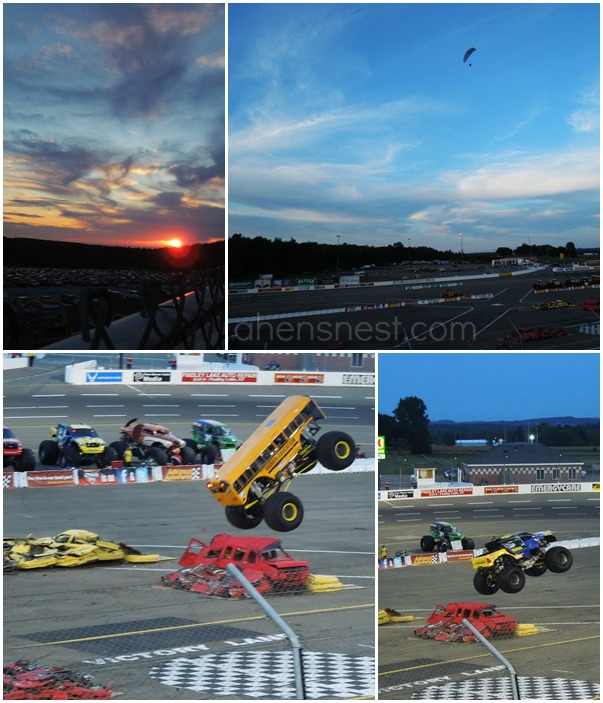 Lake Erie Speedway Monster Jam 2012
