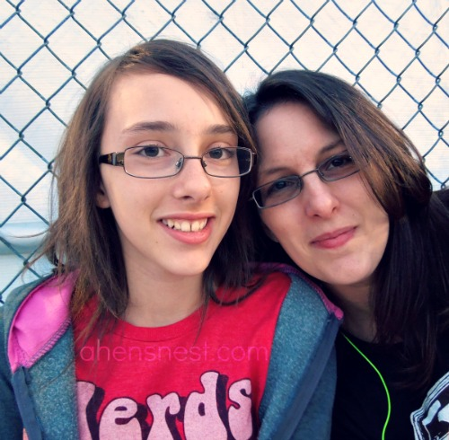 my daughter and I at Monster Jam June 2012