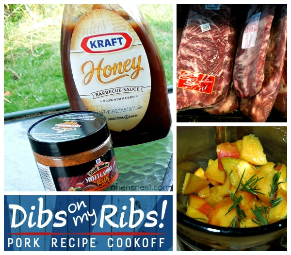 Dibs On My Ribs recipe challenge