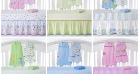 Win a gorgeous Halo SleepSack Crib Set! #babyshower