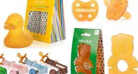 Spoil baby with eco-friendly Hevea products! #babyshower
