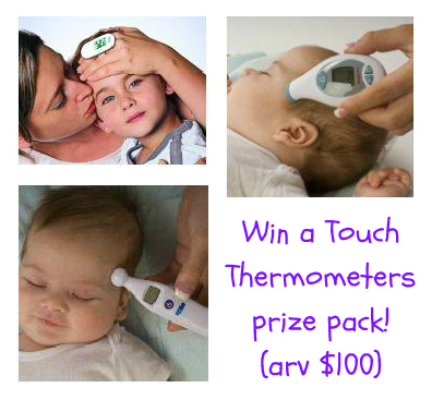 Touch Thermometers giveaway
