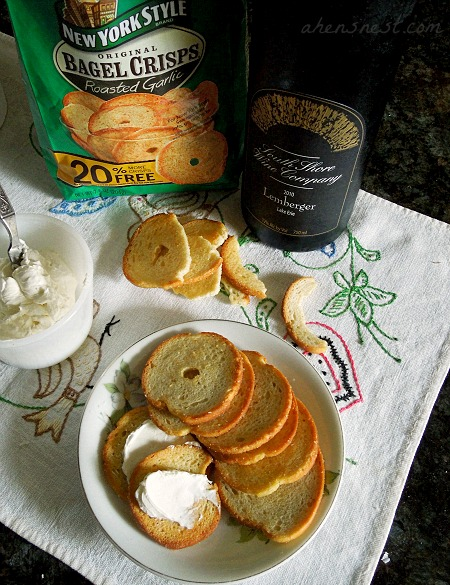 bagel crisps summer entertaining