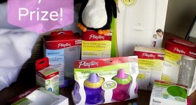 Win a HUGE Playtex prize pack! #babyshower #giveaway