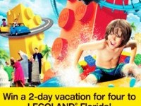 Win a family vacation to Legoland Florida from Atlantic Luggage!