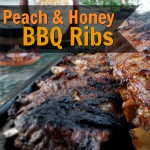 Honey Peach Barbecued Ribs recipe #DibsOnMyRibs