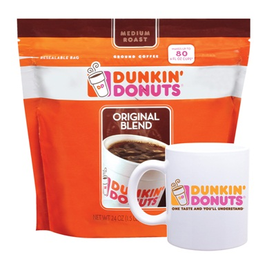 Mug Up With Dunkin' Donuts