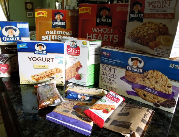 Quaker new products 2012
