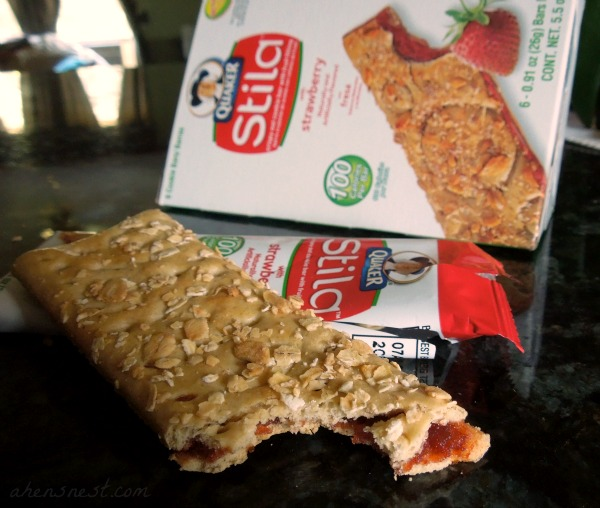 Quaker strawberry stila bar