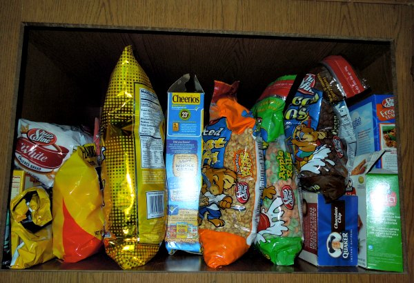 cereal cupboard