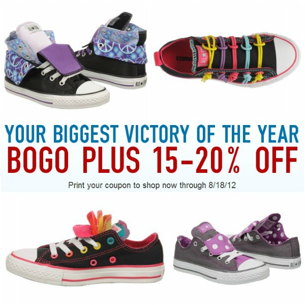 Famous Footwear BOGO back to school coupon