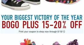Famous Footwear BOGO Back to school deal