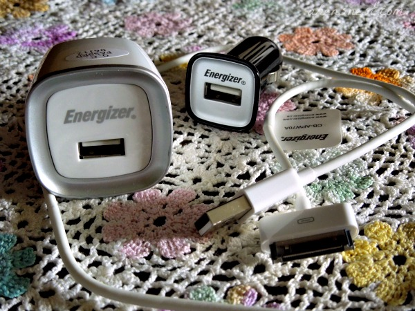 energizer usb combo charger