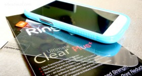 How not to put a screen protector on the Galaxy SIII #VZWSM