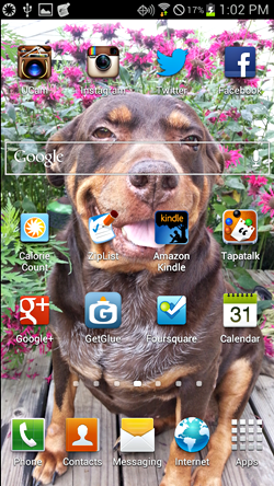home screen galaxy s3