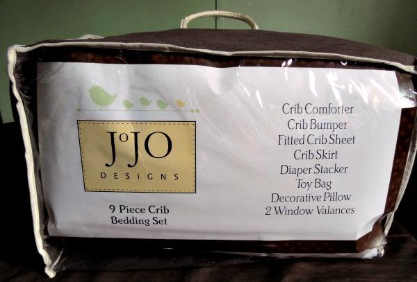 Fancy jojo designs crib bedding